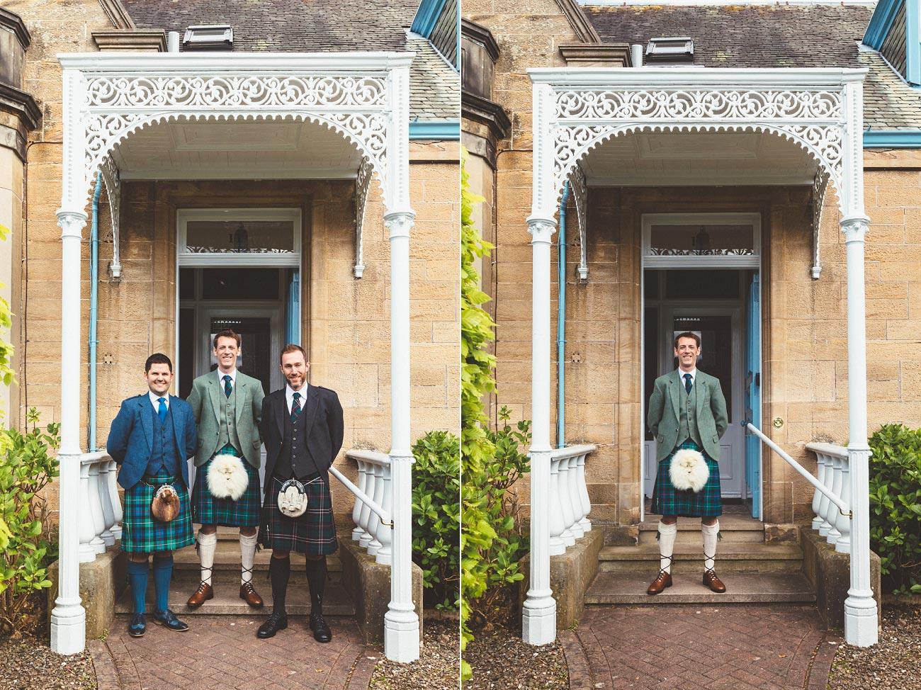 wedding photographer trossach kirk church roman camp hotel callander scotland 005f