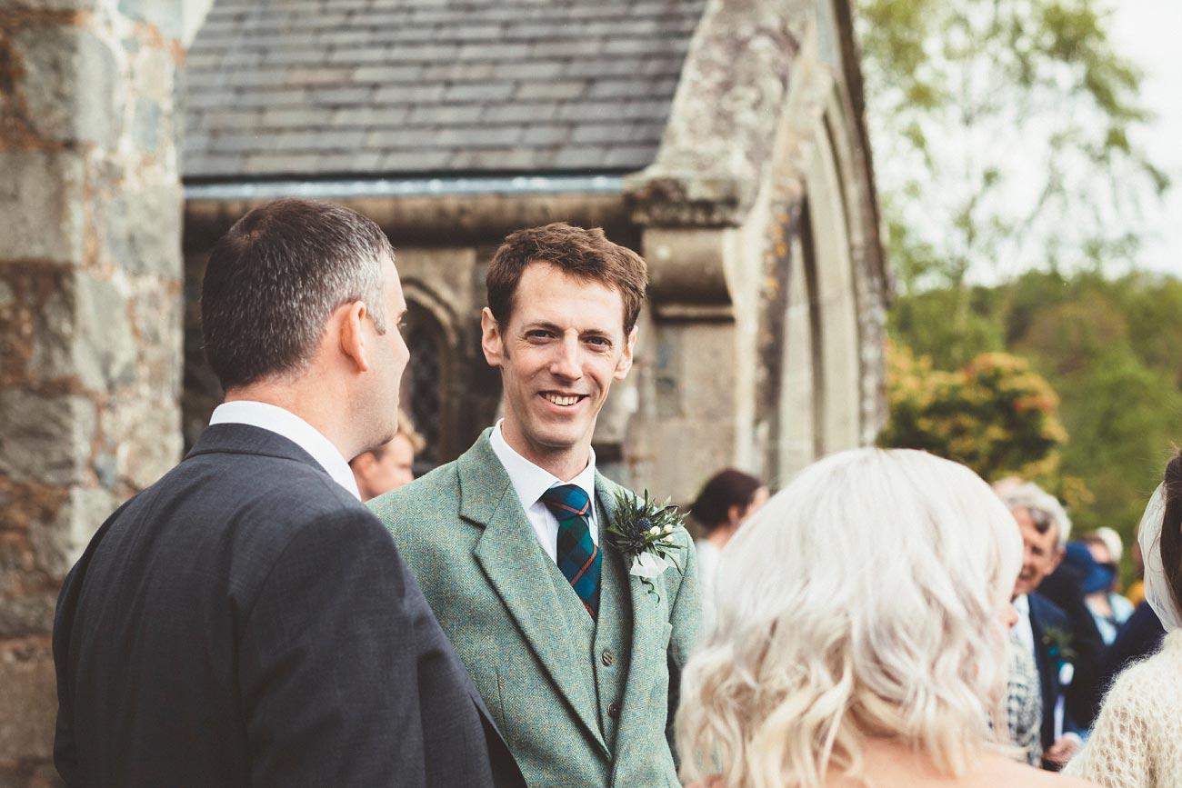 wedding photographer trossach kirk church roman camp hotel callander scotland 0068