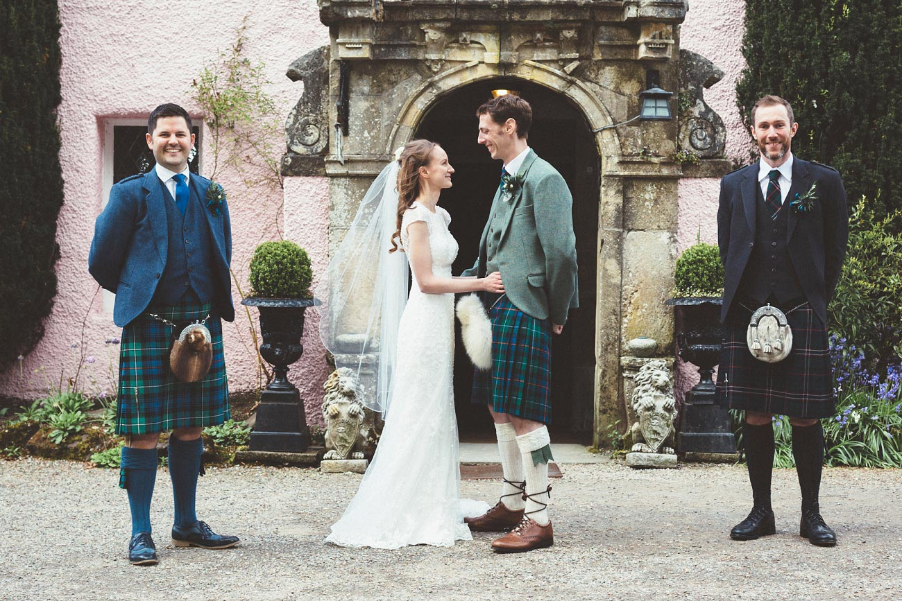 wedding photographer trossach kirk church roman camp hotel callander scotland 0075