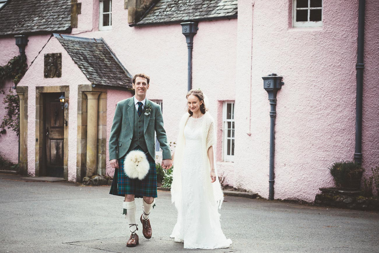 wedding photographer trossach kirk church roman camp hotel callander scotland 0076