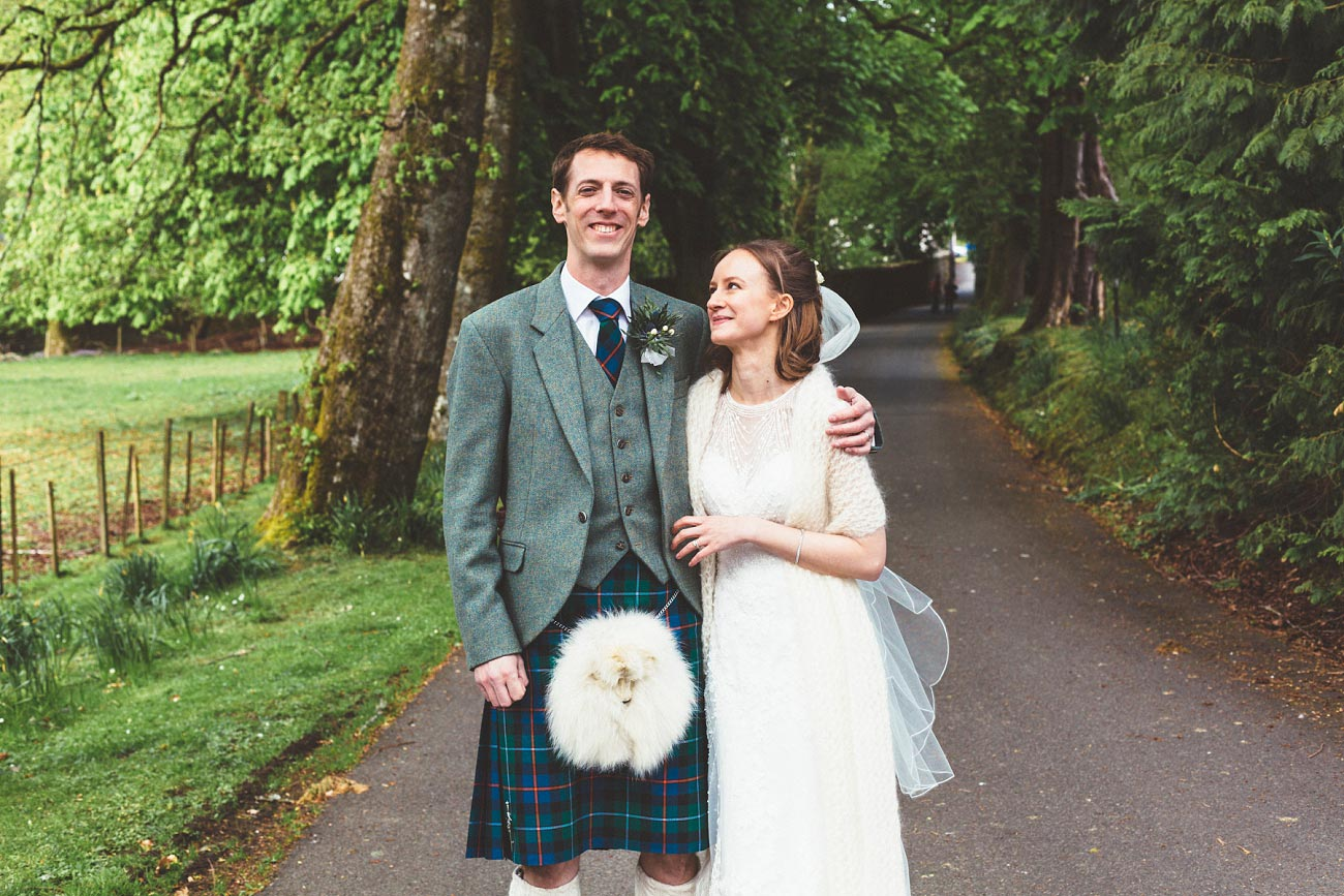wedding photographer trossach kirk church roman camp hotel callander scotland 0079