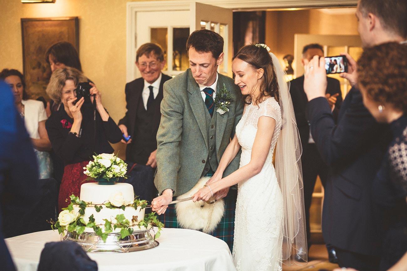 wedding photographer trossach kirk church roman camp hotel callander scotland 0085