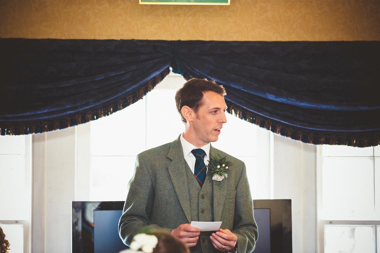 wedding photographer trossach kirk church roman camp hotel callander scotland 0090