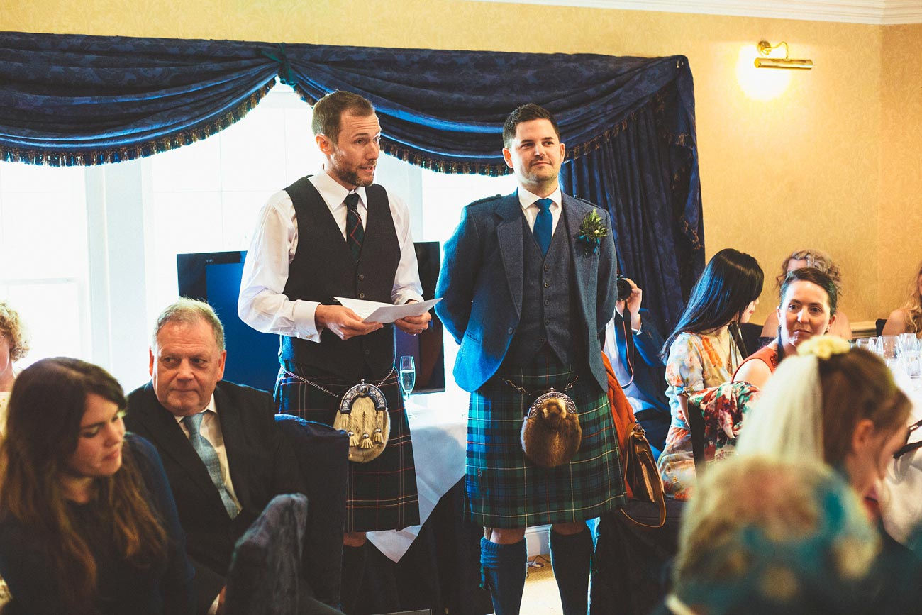 wedding photographer trossach kirk church roman camp hotel callander scotland 0092