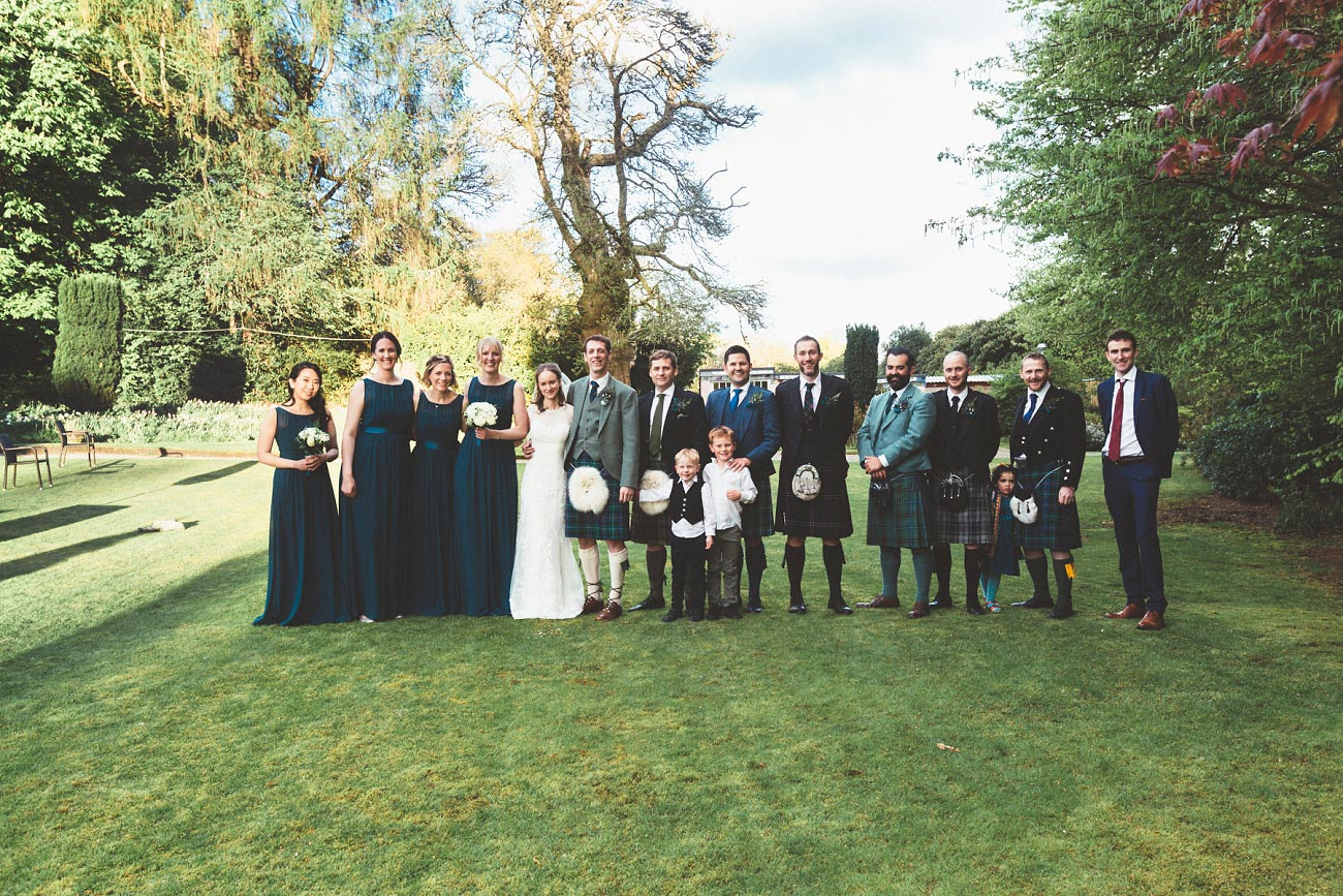 wedding photographer trossach kirk church roman camp hotel callander scotland 0097