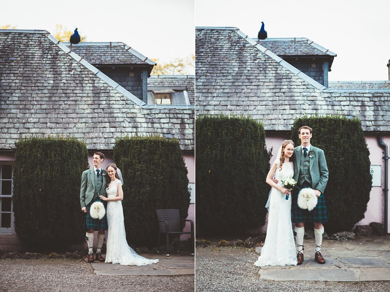 wedding photographer trossach kirk church roman camp hotel callander scotland 0099