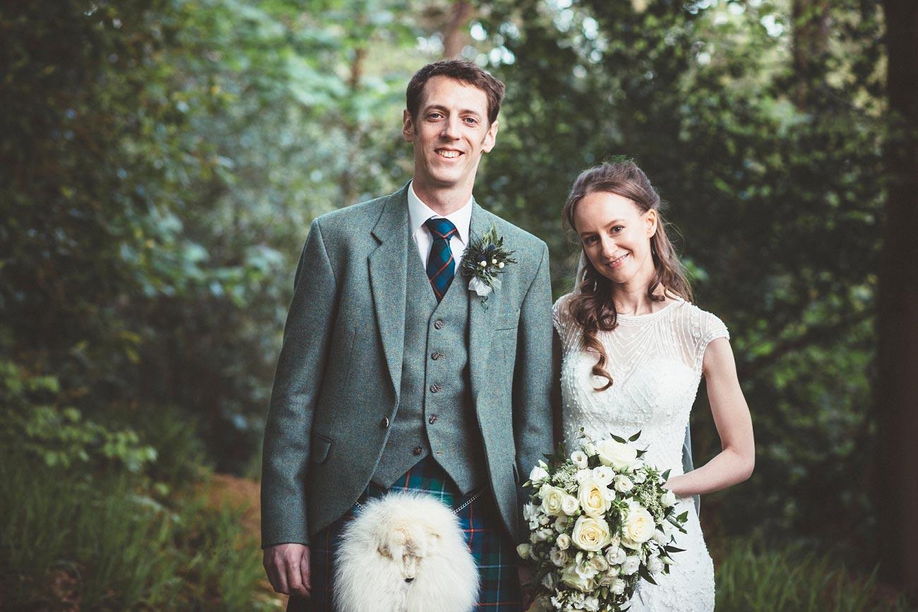 wedding photographer trossach kirk church roman camp hotel callander scotland 0101