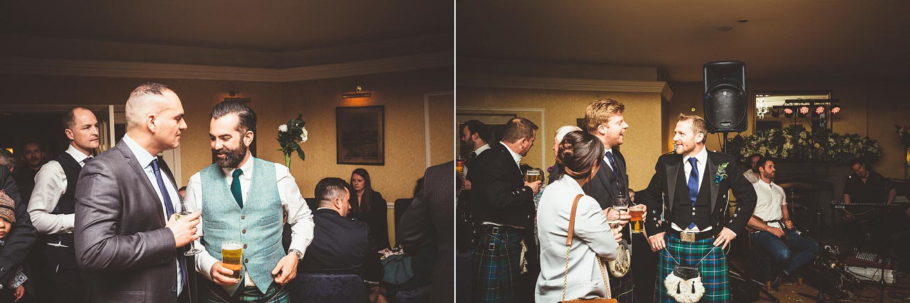 wedding photographer trossach kirk church roman camp hotel callander scotland 0106