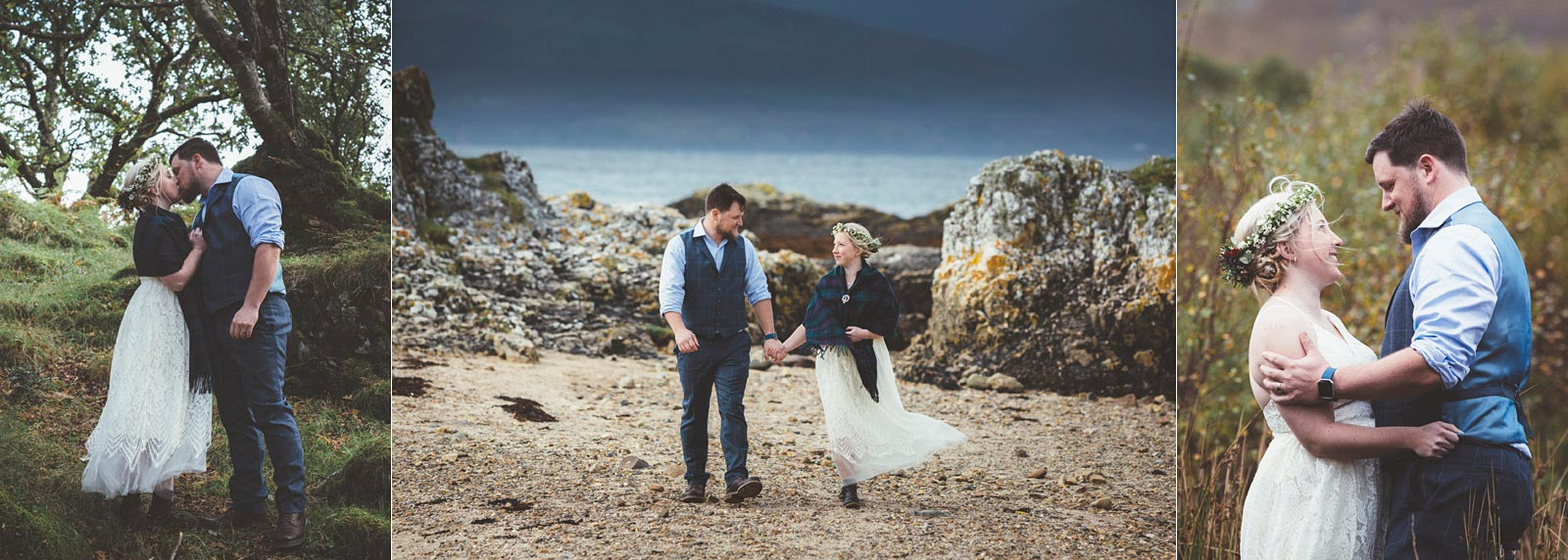 Wedding photographer Scotland. Elopememt wedding photography Isle of Skye. Wilson McSheffrey Photography