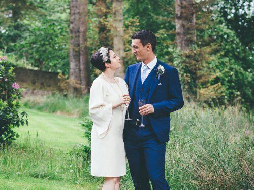 Bridge of Don Garden Wedding // Wedding Photography Aberdeen