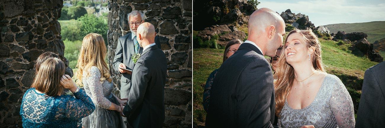 wedding photography edinburgh st anthonys chapel ruins 0012