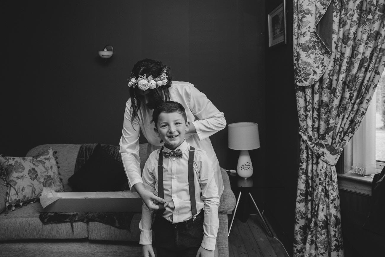 wedding photography fife letham village Hall scotland woodland vintage 0021
