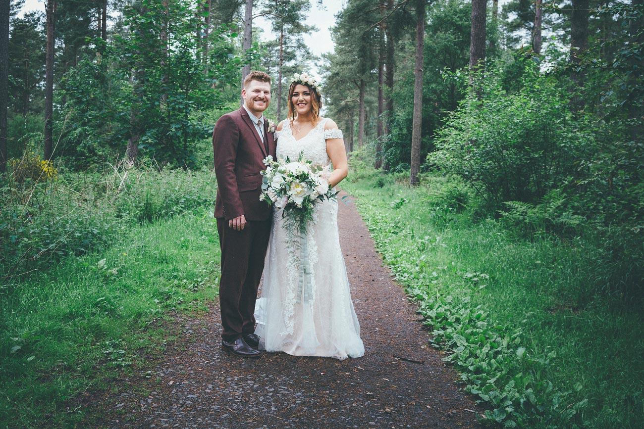 wedding photography fife letham village Hall scotland woodland vintage 0070