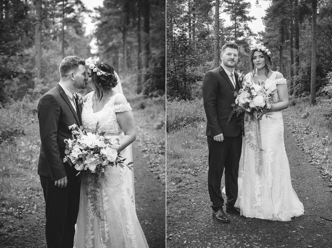 wedding photography fife letham village Hall scotland woodland vintage 0071