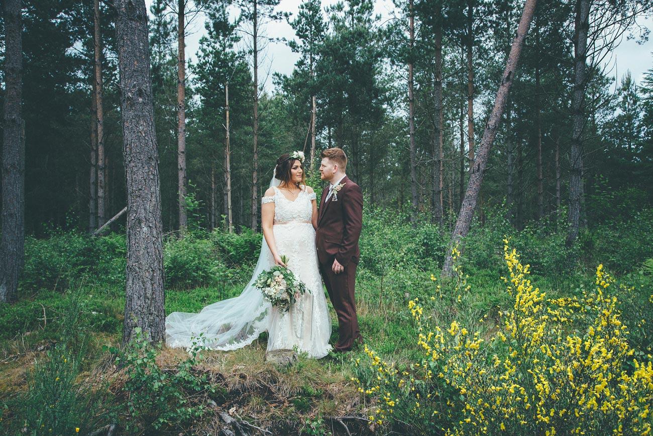 wedding photography fife letham village Hall scotland woodland vintage 0078
