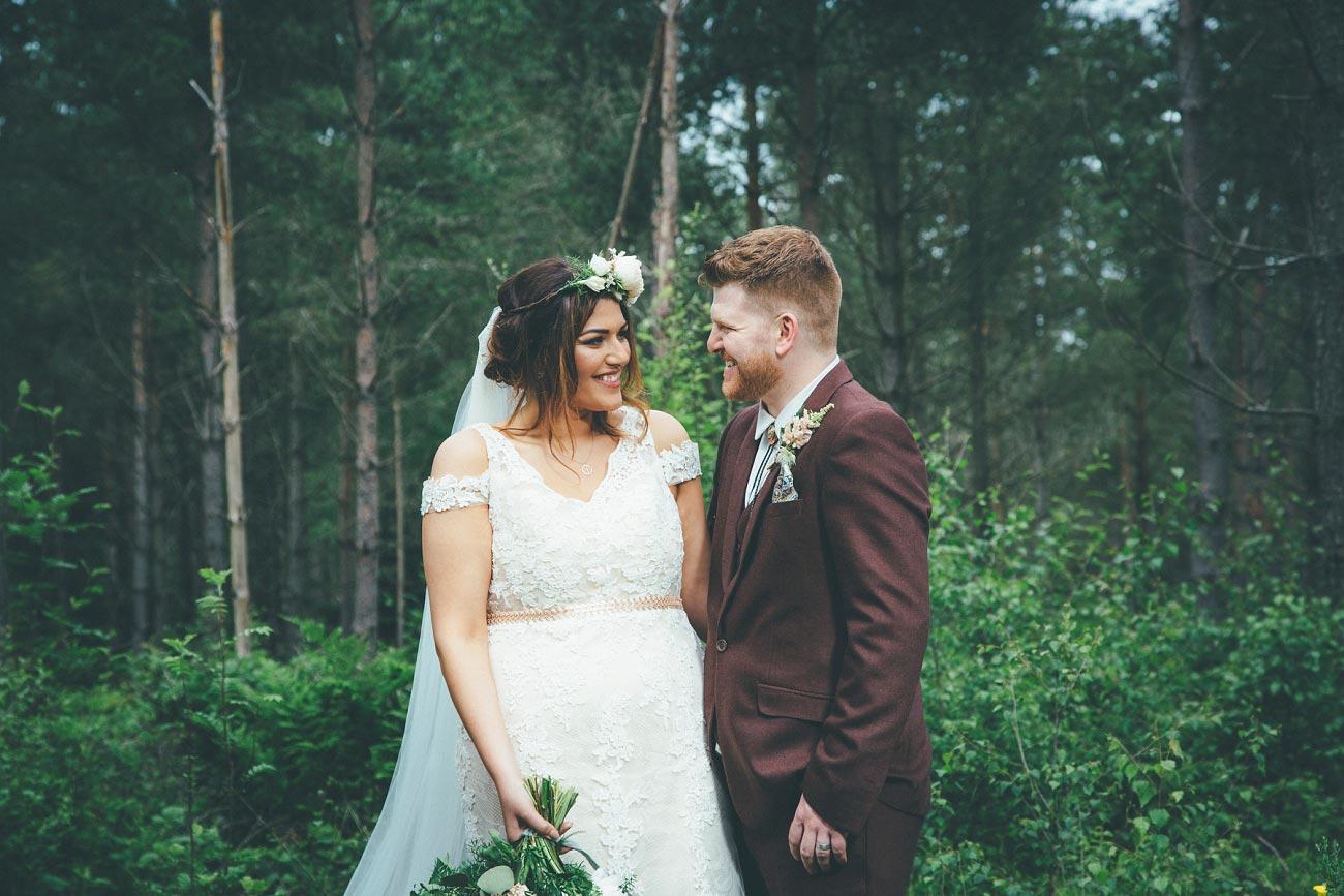 wedding photography fife letham village Hall scotland woodland vintage 0079