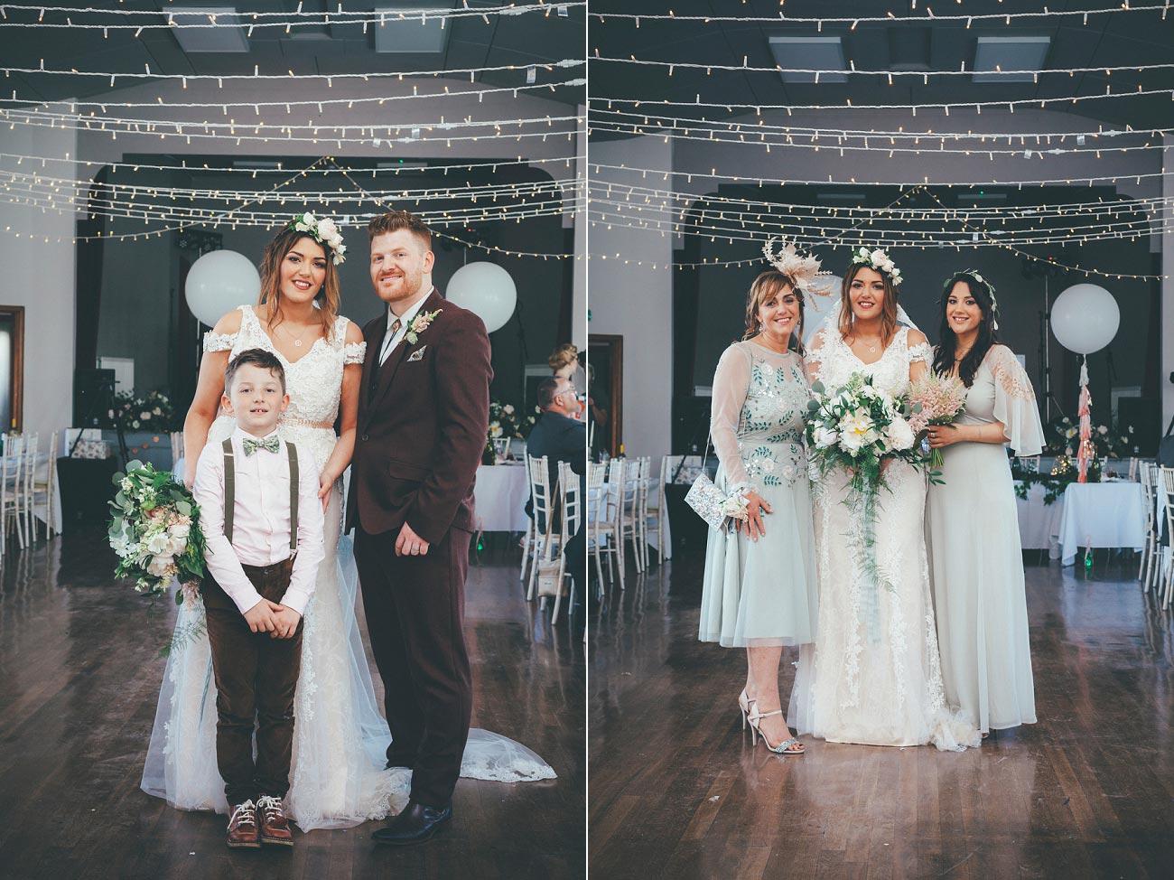 wedding photography fife letham village Hall scotland woodland vintage 0089