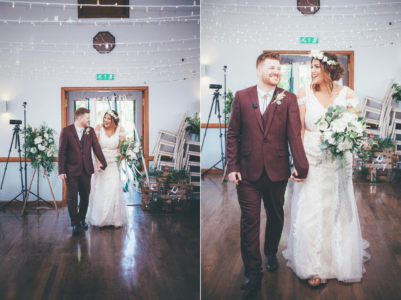 wedding photography fife letham village Hall scotland woodland vintage 0096