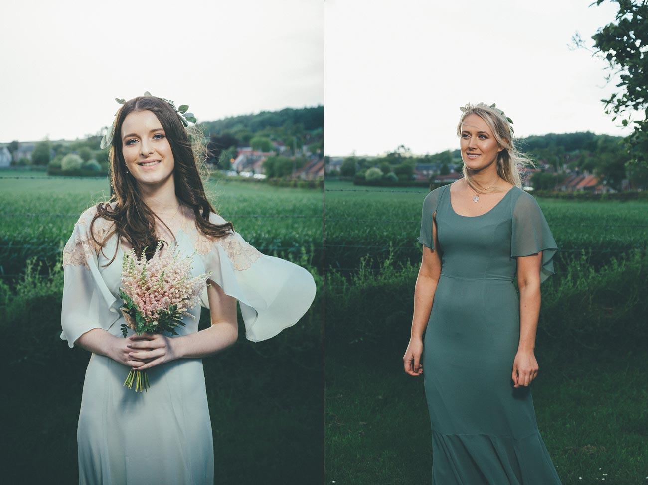 wedding photography fife letham village Hall scotland woodland vintage 0106