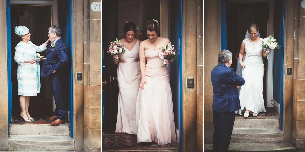 wedding photography glasgow university chapel oran mor reportage 10