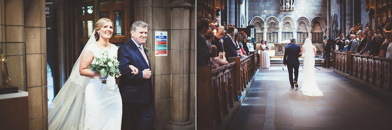 wedding photography glasgow university chapel oran mor reportage 15