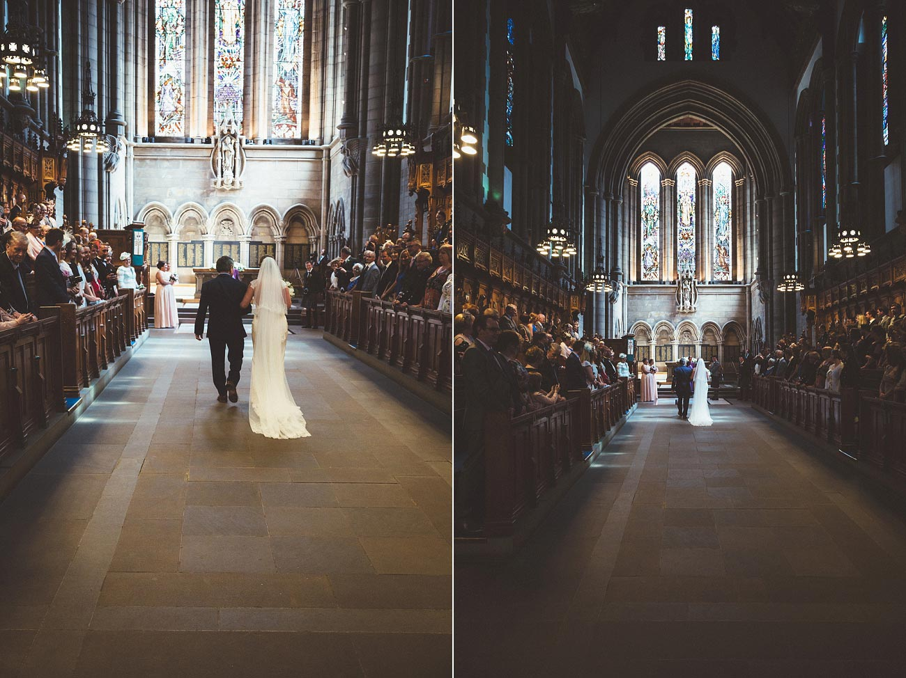 wedding photography glasgow university chapel oran mor reportage 16
