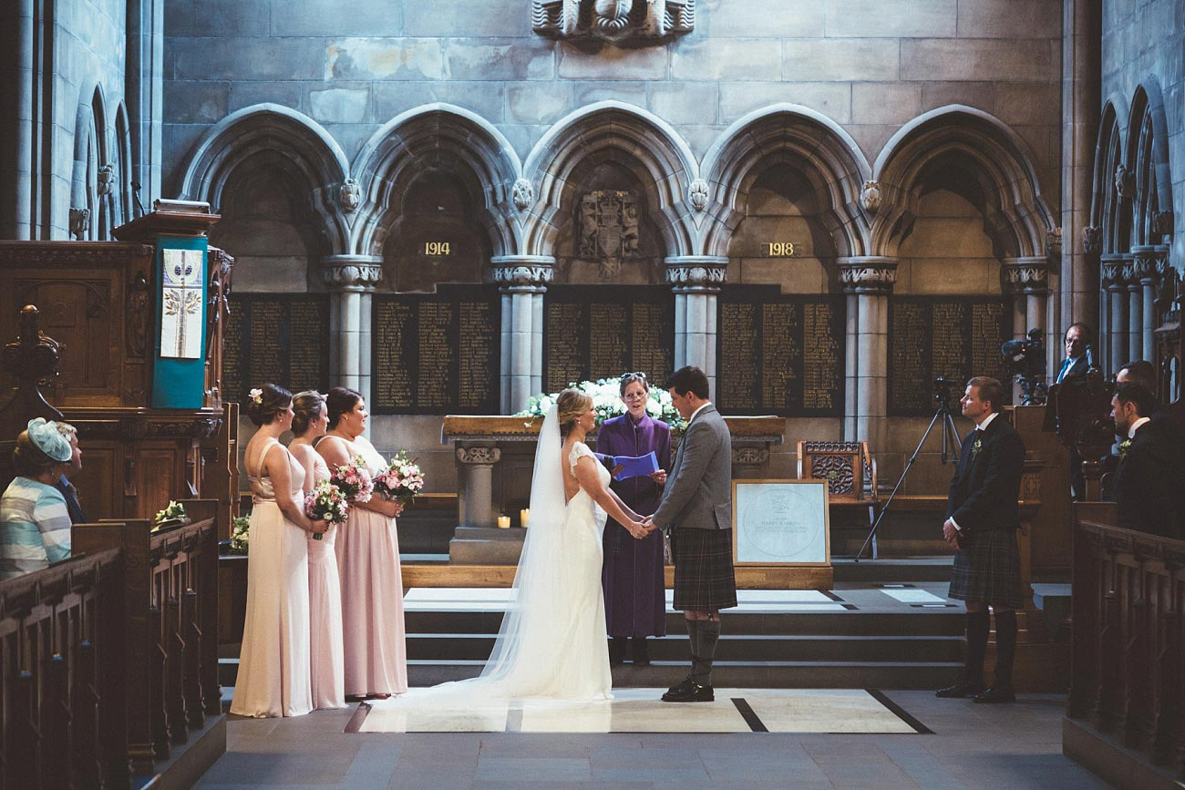 wedding photography glasgow university chapel oran mor reportage 18