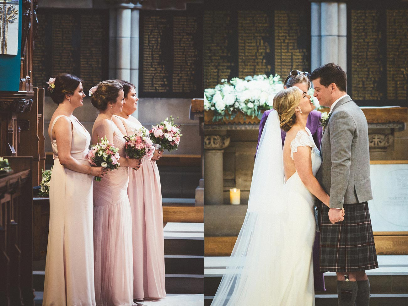 wedding photography glasgow university chapel oran mor reportage 19