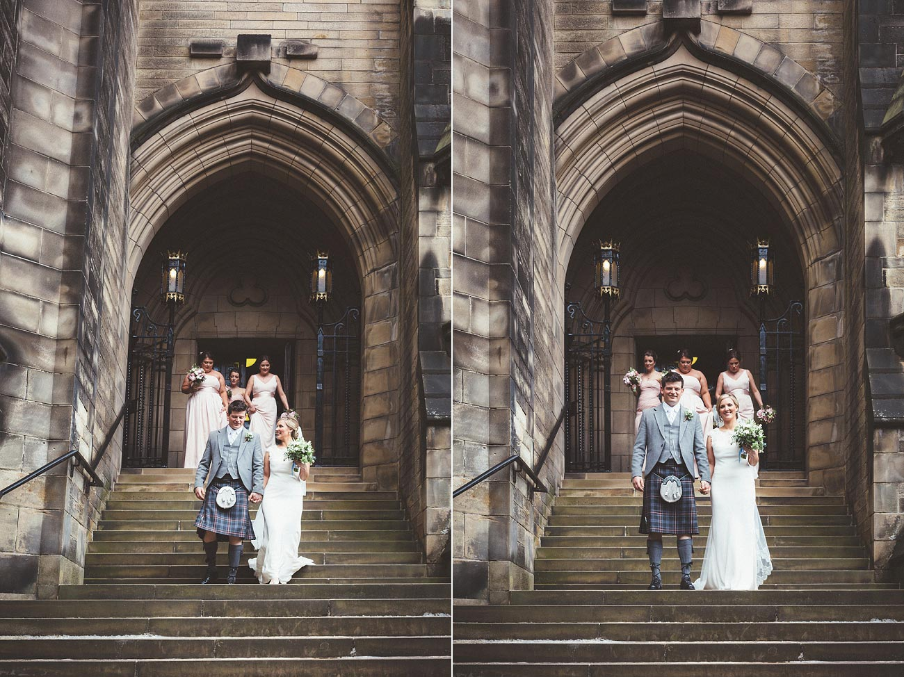 wedding photography glasgow university chapel oran mor reportage 26