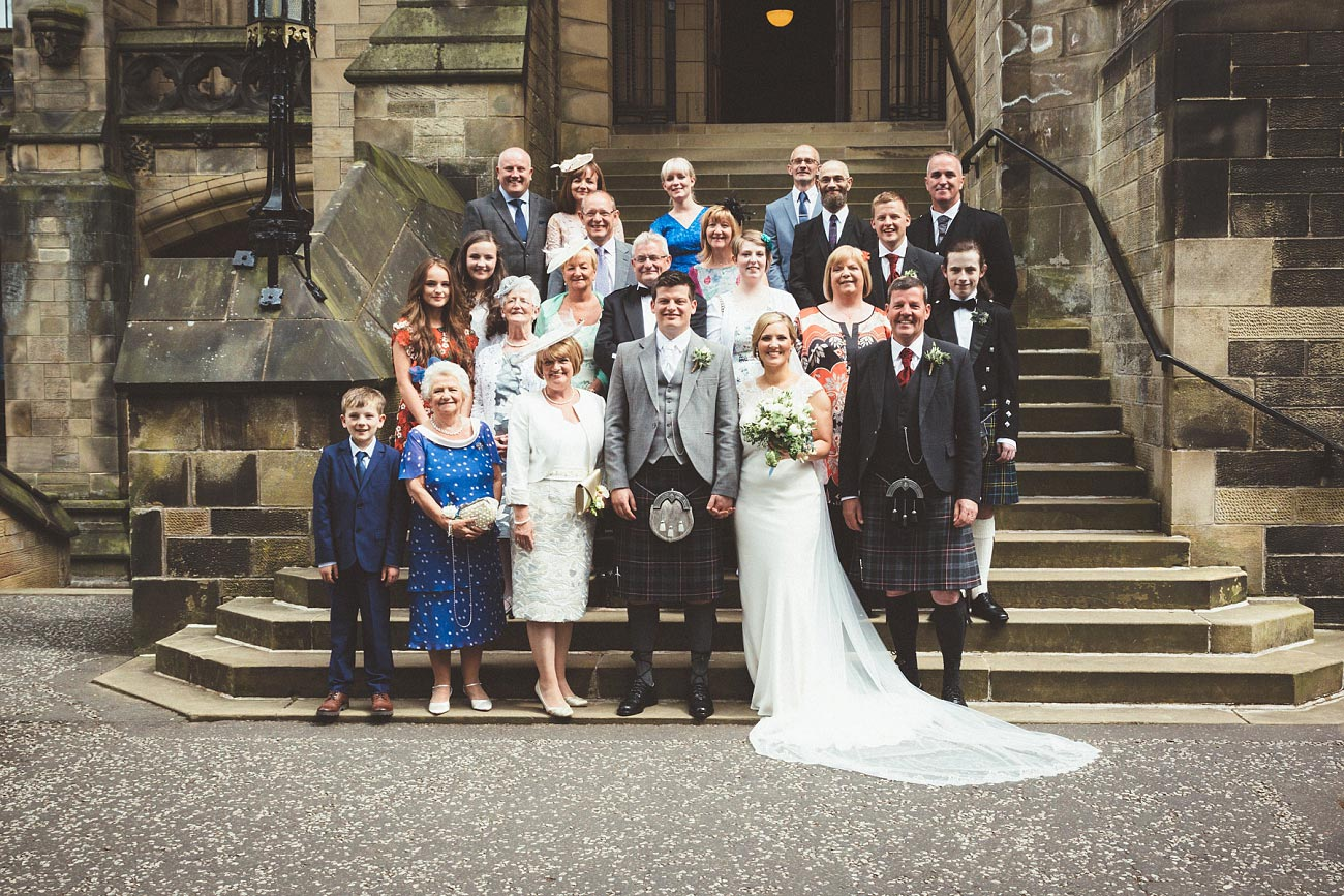 wedding photography glasgow university chapel oran mor reportage 28