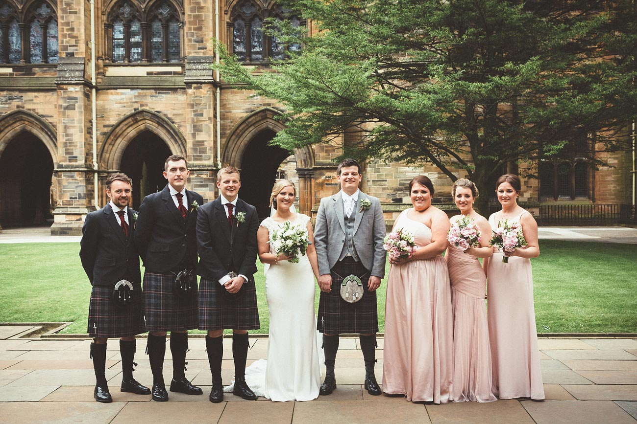 wedding photography glasgow university chapel oran mor reportage 32