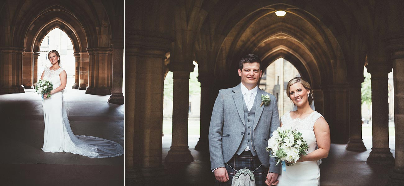 wedding photography glasgow university chapel oran mor reportage 33