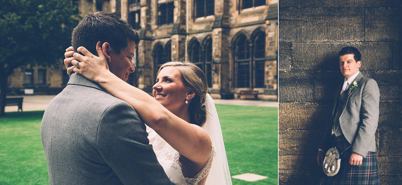 wedding photography glasgow university chapel oran mor reportage 36