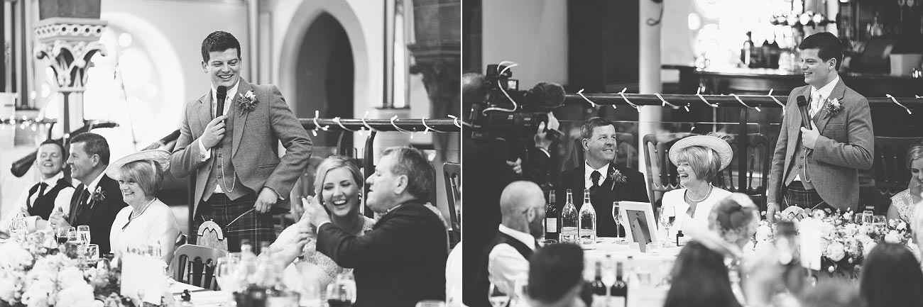 wedding photography glasgow university chapel oran mor reportage 43