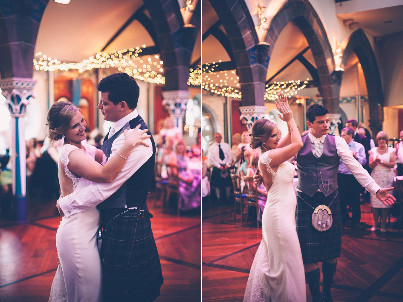 wedding photography glasgow university chapel oran mor reportage 55