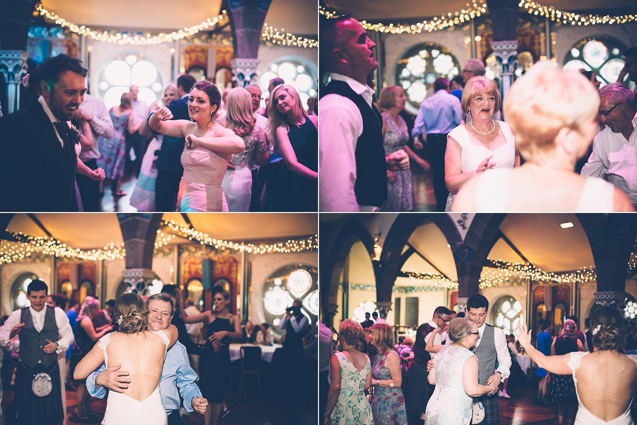 wedding photography glasgow university chapel oran mor reportage 56
