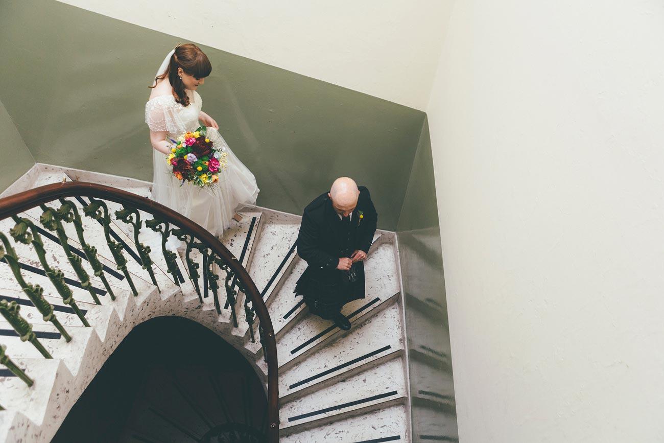 wedding photography pollokshields burgh hall glasgow 0017