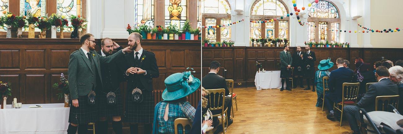 wedding photography pollokshields burgh hall glasgow 0020
