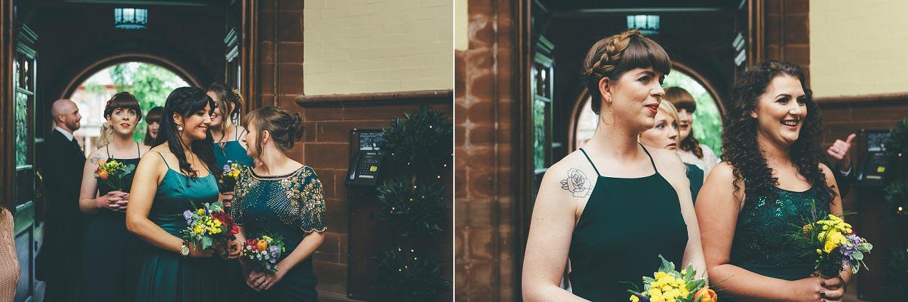 wedding photography pollokshields burgh hall glasgow 0021