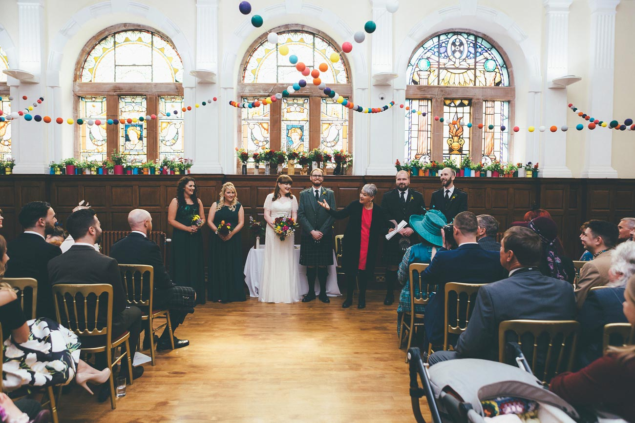 wedding photography pollokshields burgh hall glasgow 0024