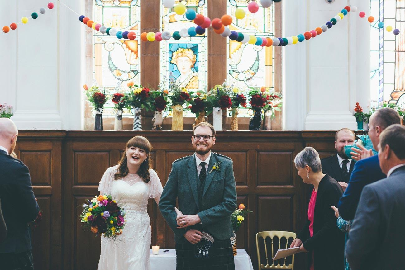 wedding photography pollokshields burgh hall glasgow 0033