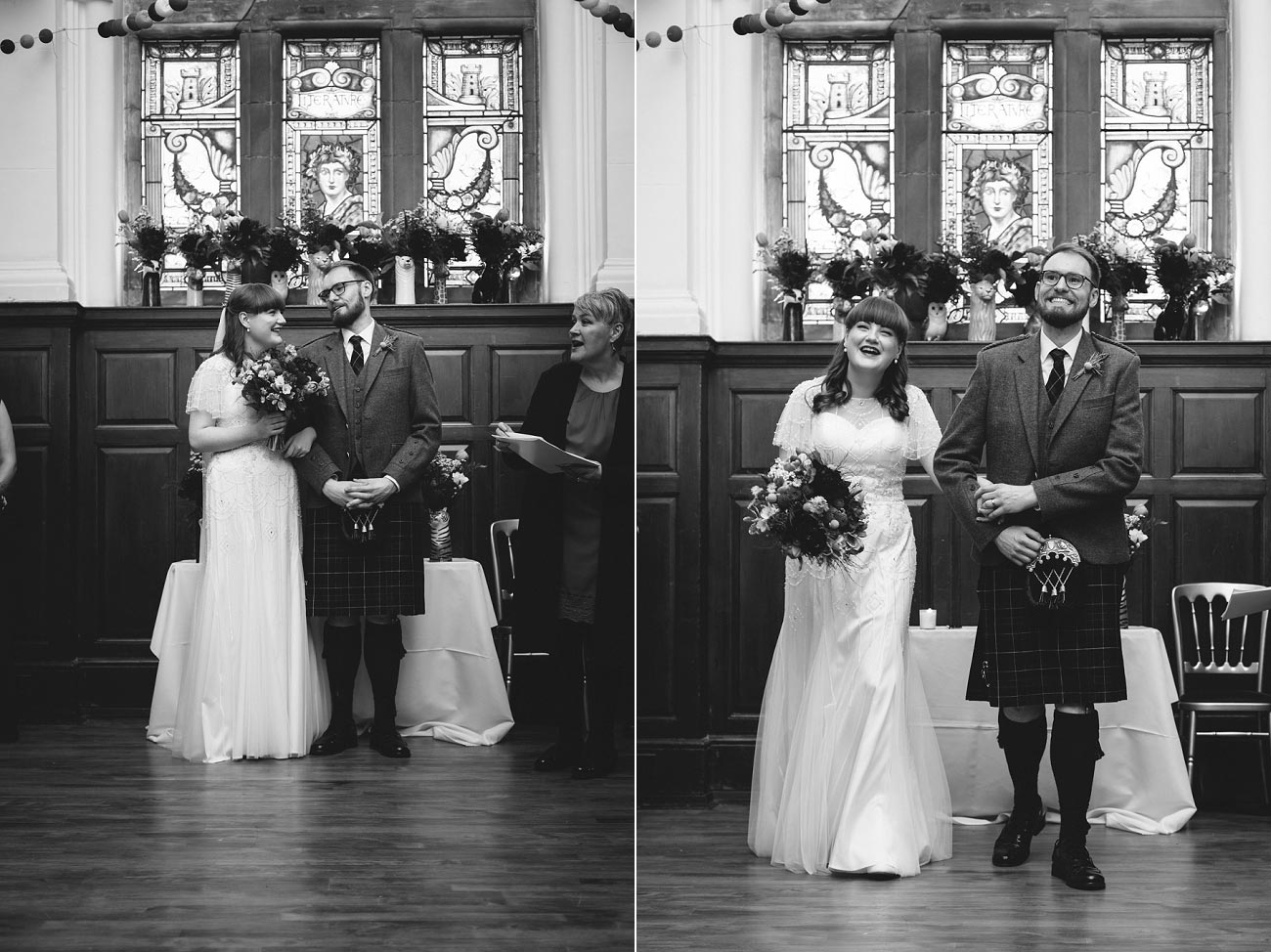 wedding photography pollokshields burgh hall glasgow 0034