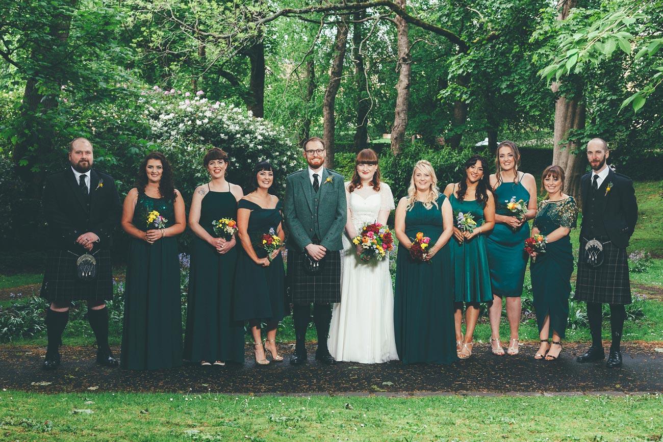 wedding photography pollokshields burgh hall glasgow 0041