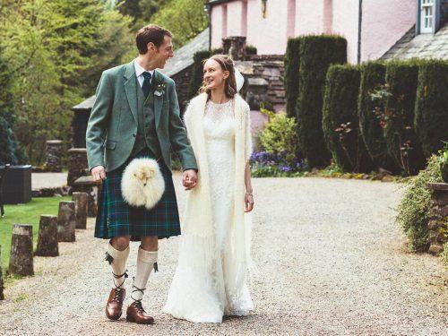 Roman Camp Hotel // Wedding Photography Scotland