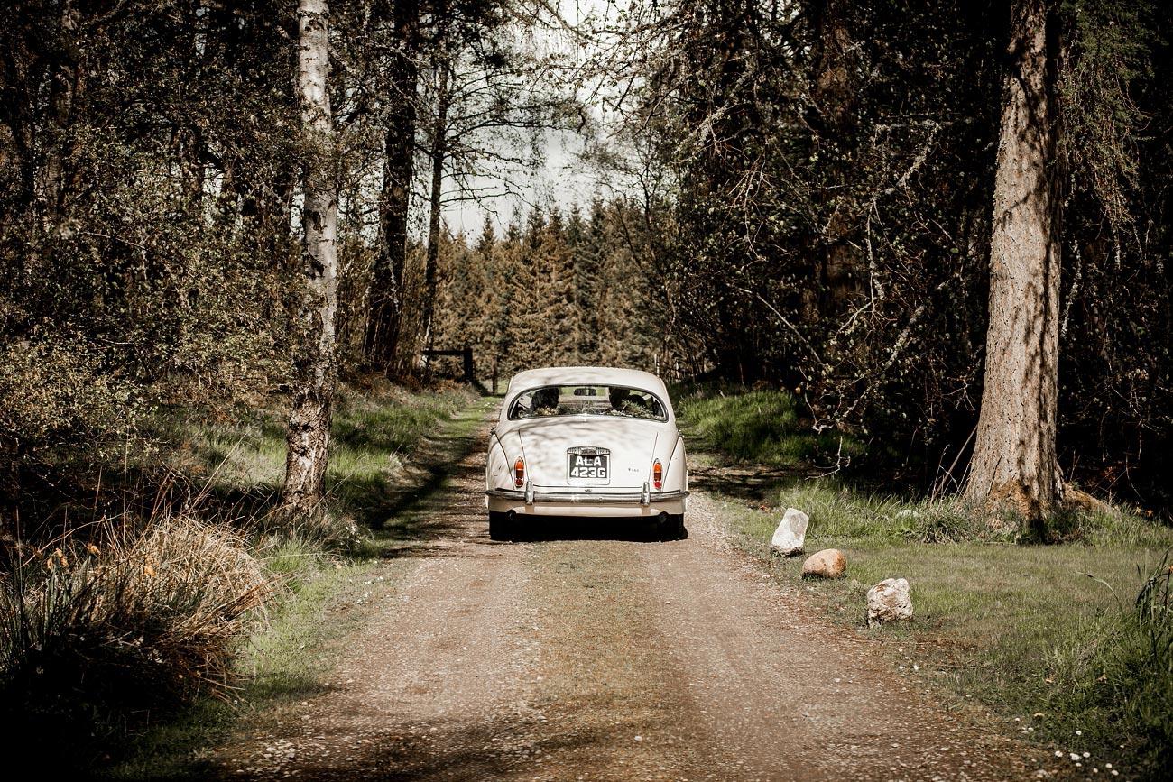 Wedding car, Dell of Abernethy
