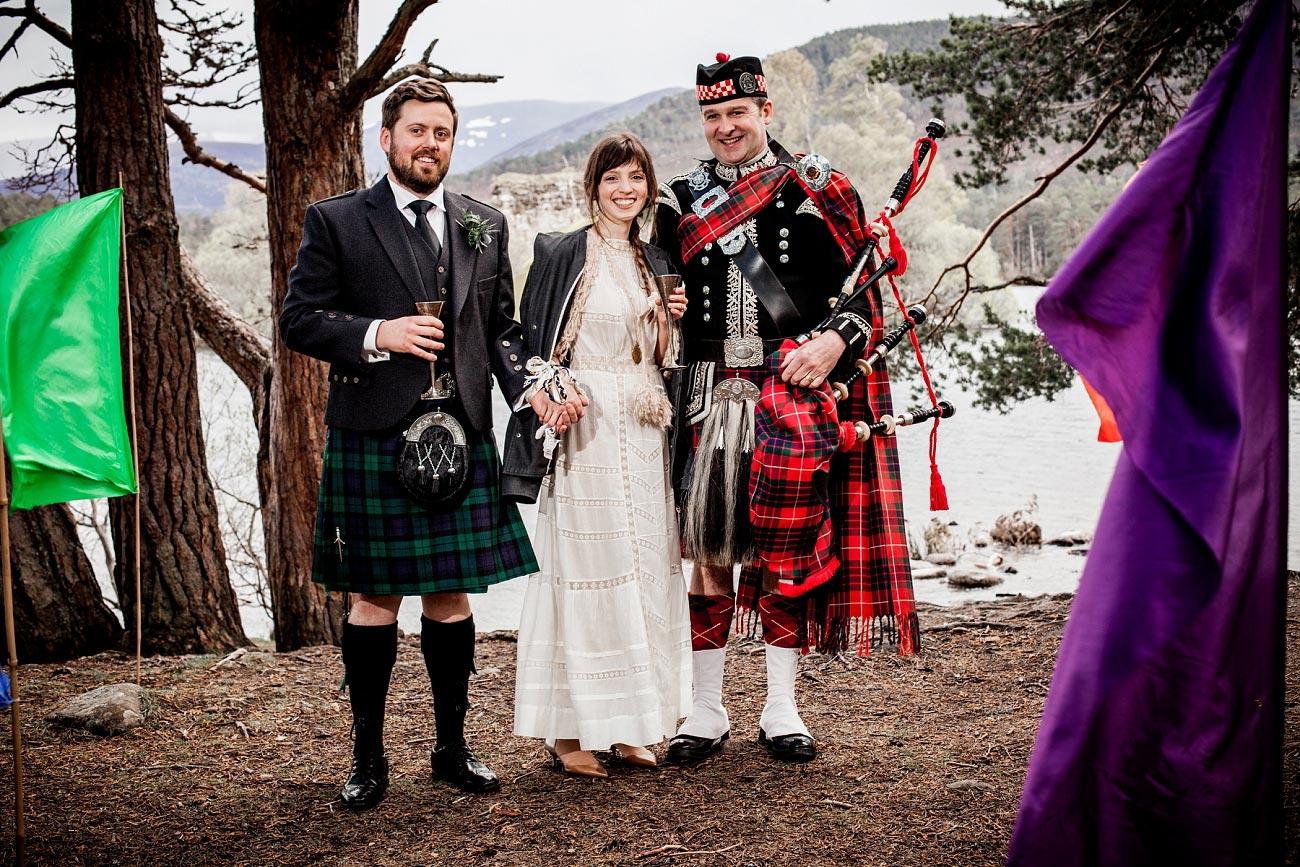 forest wedding photography scotland rothiemurchurs cairngorms