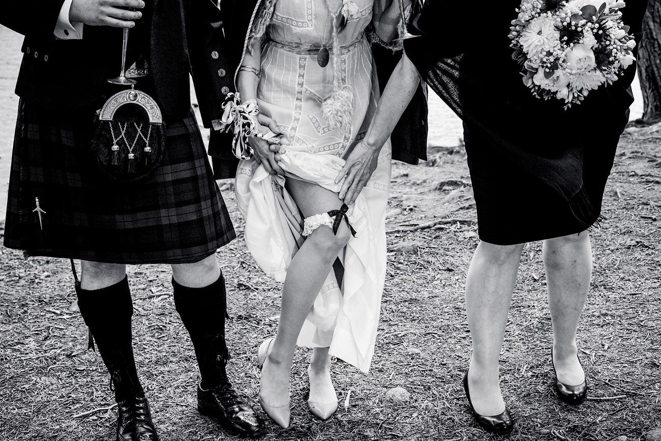 black and white wedding photography scotland