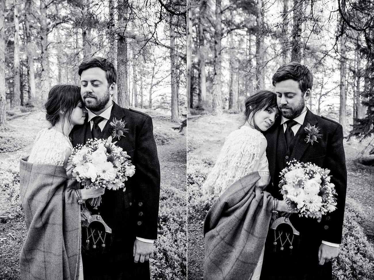 forest wedding photography scotland dell of abernethy cairngorms 0056