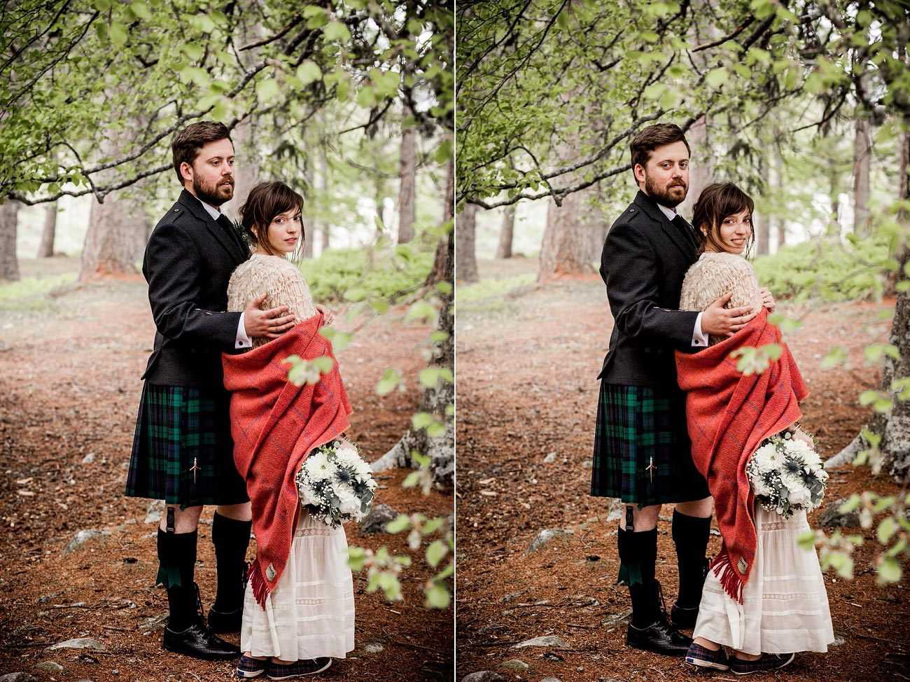 forest wedding photography scotland dell of abernethy cairngorms 0058
