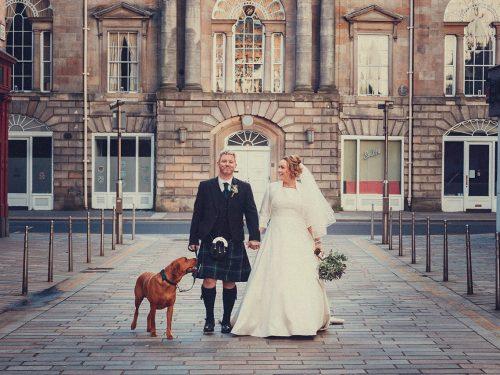 Trades Hall Elopement Wedding Glasgow // Natural Wedding Photography